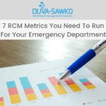 7 RCM Metrics You Need To Run For Your Emergency Department